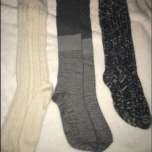 Boot Socks and over the Knee Boot Socks